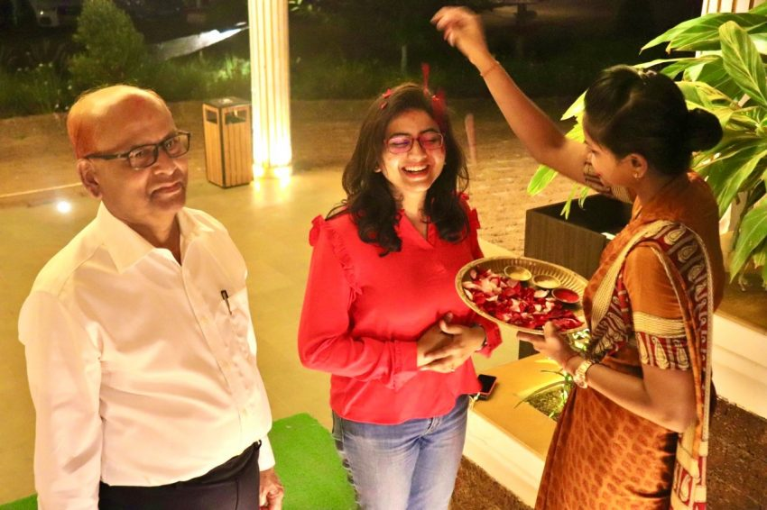 Guest Welcome at Swosti Chilika Resort