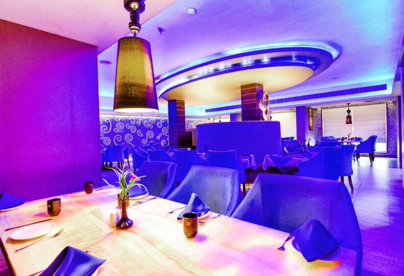 Restaurants at the Hotel Swosti Grand